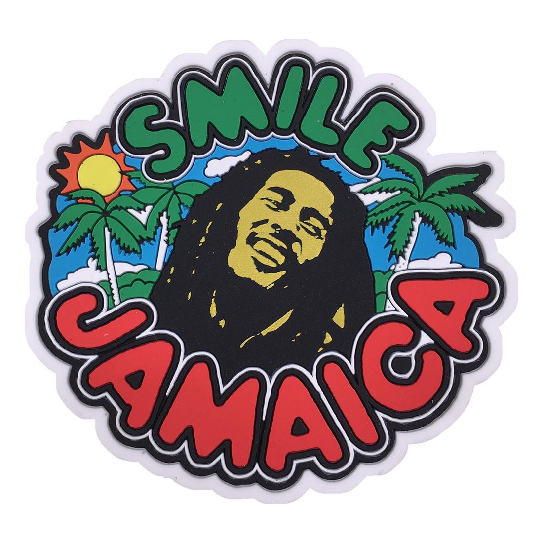 Marley Smile Jamaica Magnet
