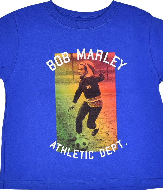MARLEY ATHLETIC DEPT. TODDLER BLUE T-SHIRT