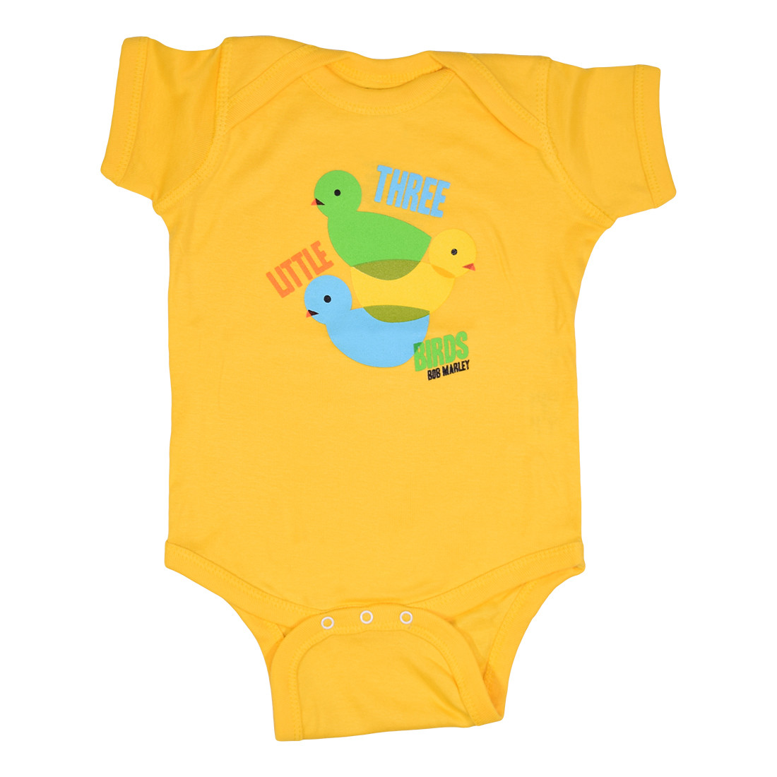 Marley 3 Lil' Birds Yellow Onesie