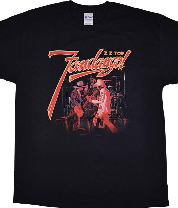 ZZ Top Fandango! Black T-Shirt