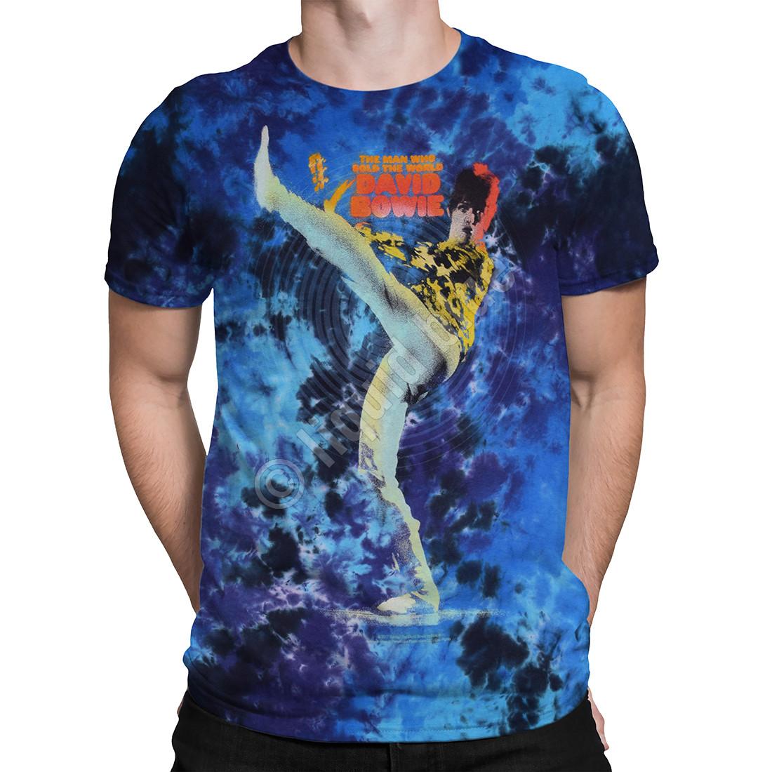 Bowie Kick Tie-Dye T-Shirt