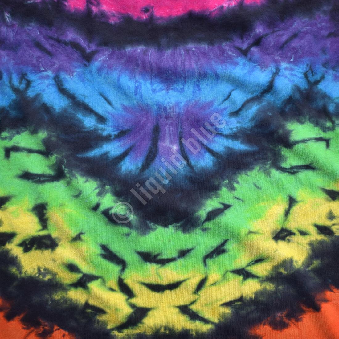 Butterfly Krinkle Unprinted Tie-Dye T-Shirt