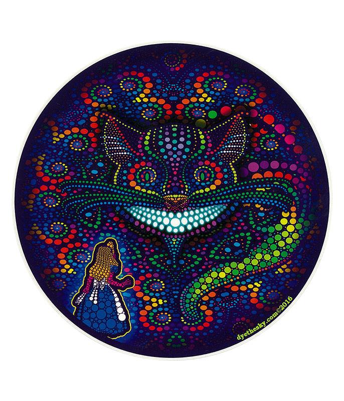 Light Fantasy Alice & Cheshire Sticker