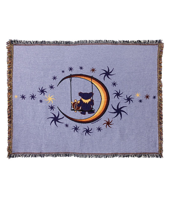 Grateful Dead GD Moon Swing Woven Blanket
