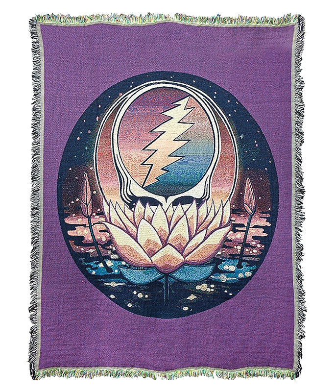 Grateful Dead GD Lotus SYF Woven Blanket