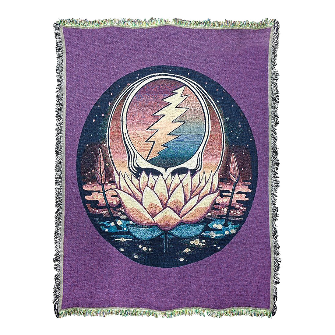 GD Lotus SYF Woven Blanket