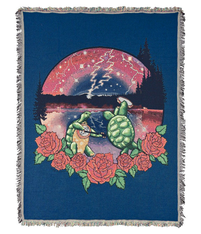 Grateful Dead GD Terrapin Lake Woven Blanket