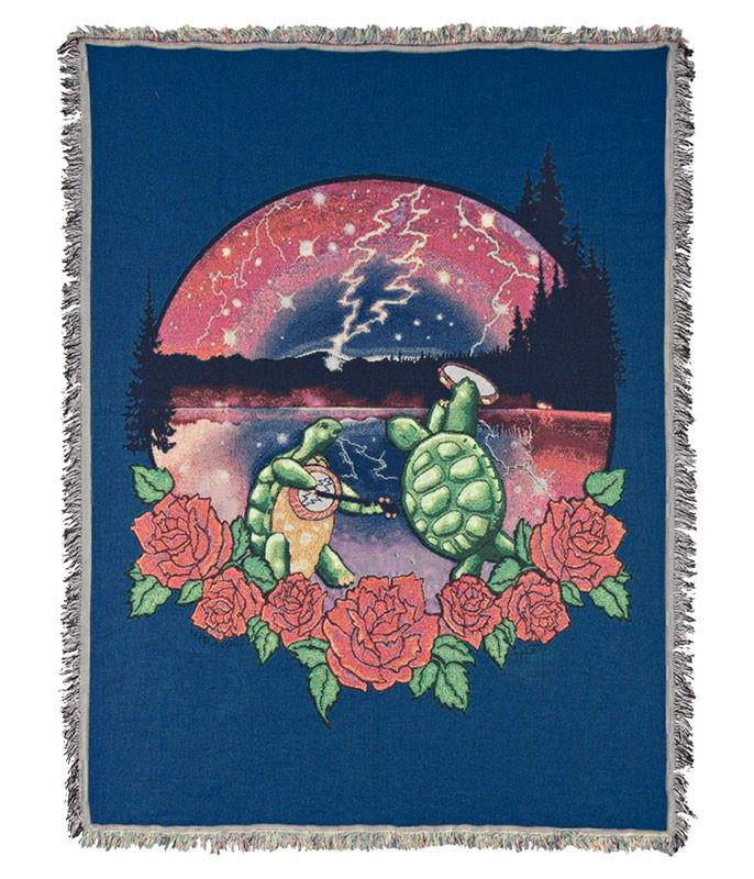 Grateful Dead GD Terrapin Lake Woven Blanket