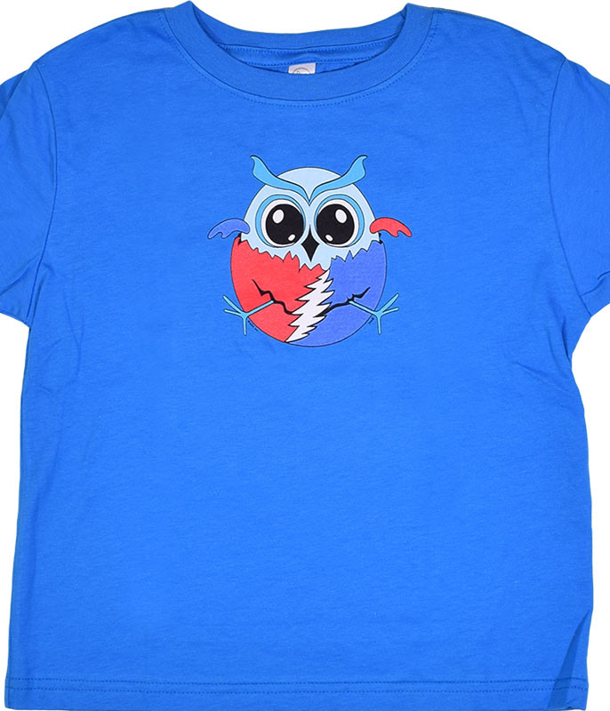 GD Steal Your Owl Blue Toddler T-Shirt Tee