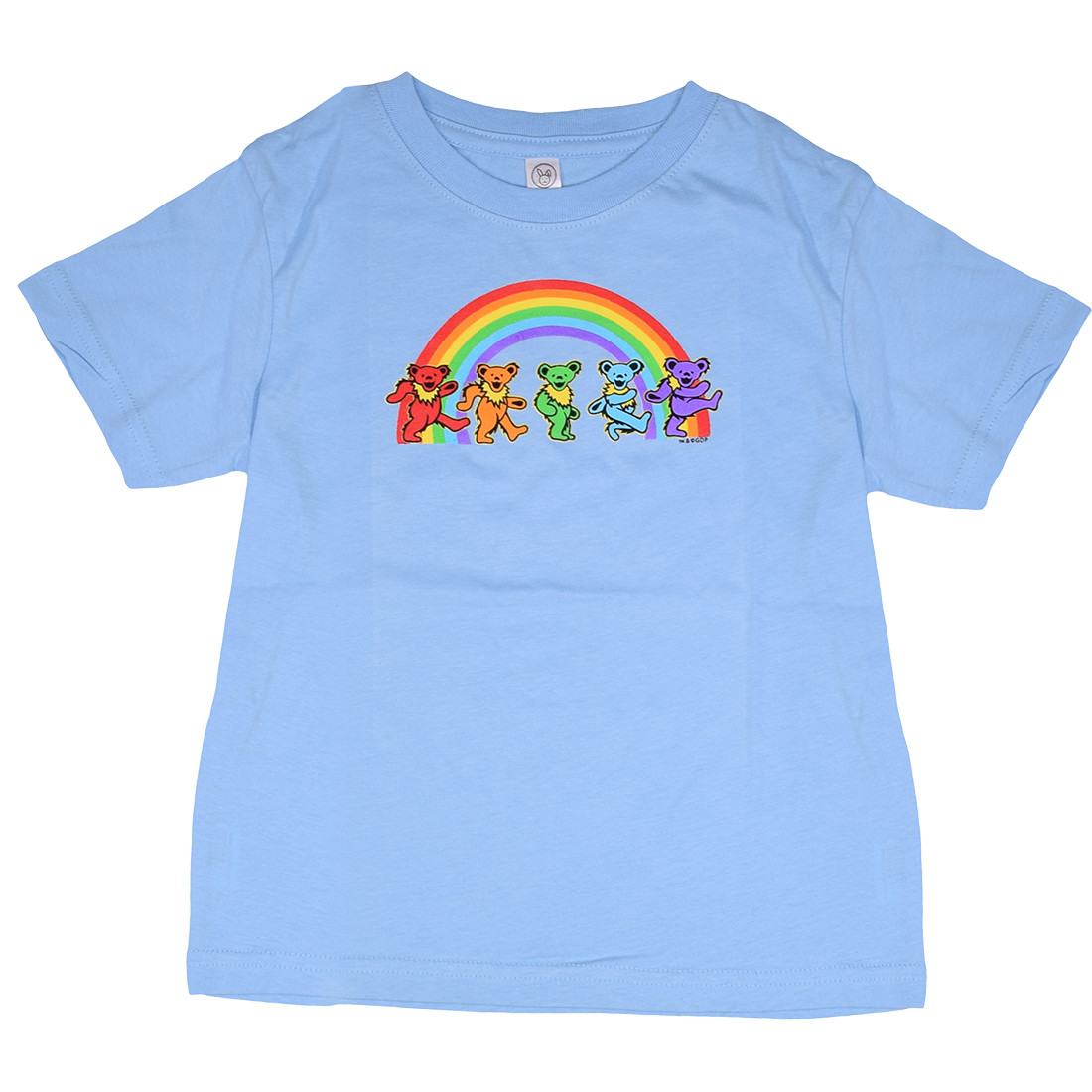 GD Rainbow Bears Blue Toddler T-Shirt