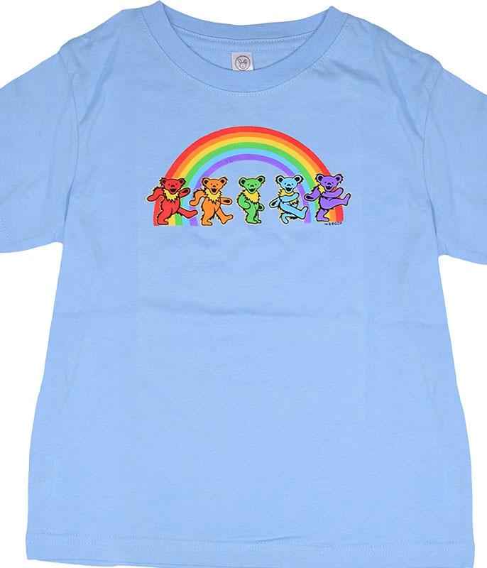 GD Rainbow Bears Blue Toddler T-Shirt