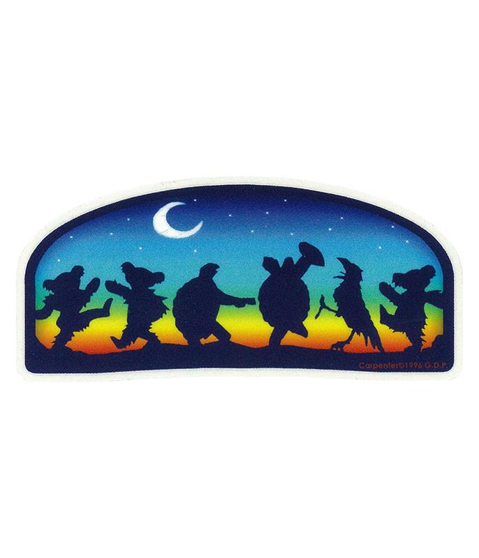 Grateful Dead GD Moondance Mini Sticker