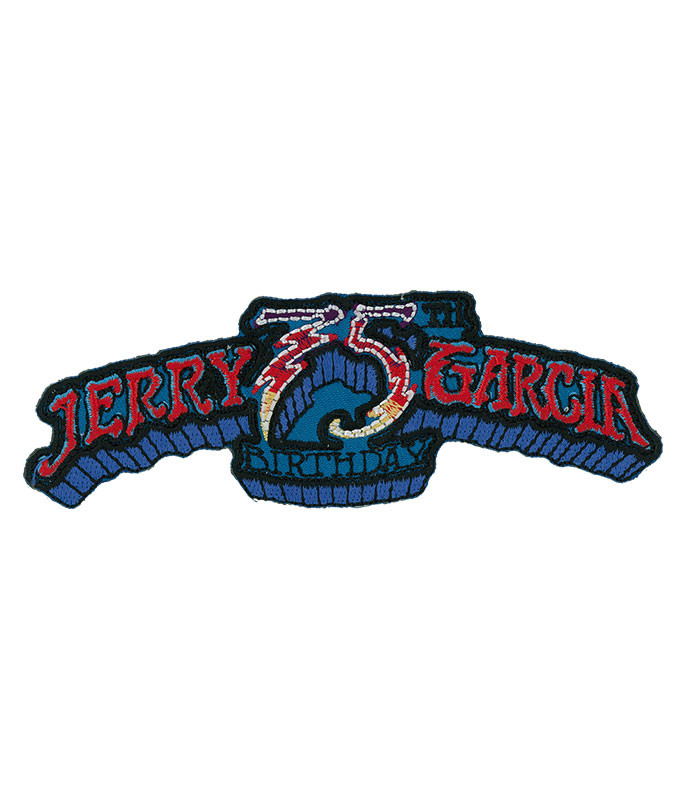 Garcia 75th Horizontal Logo Patch