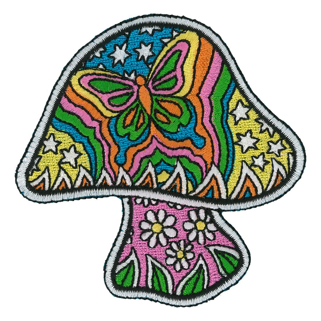 Butterfly Mushroom Patch