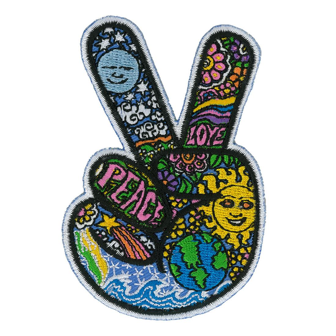 Dan Morris Peace Finger Patch