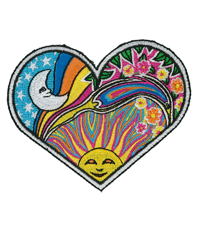 NIGHT DAY HEART PATCH