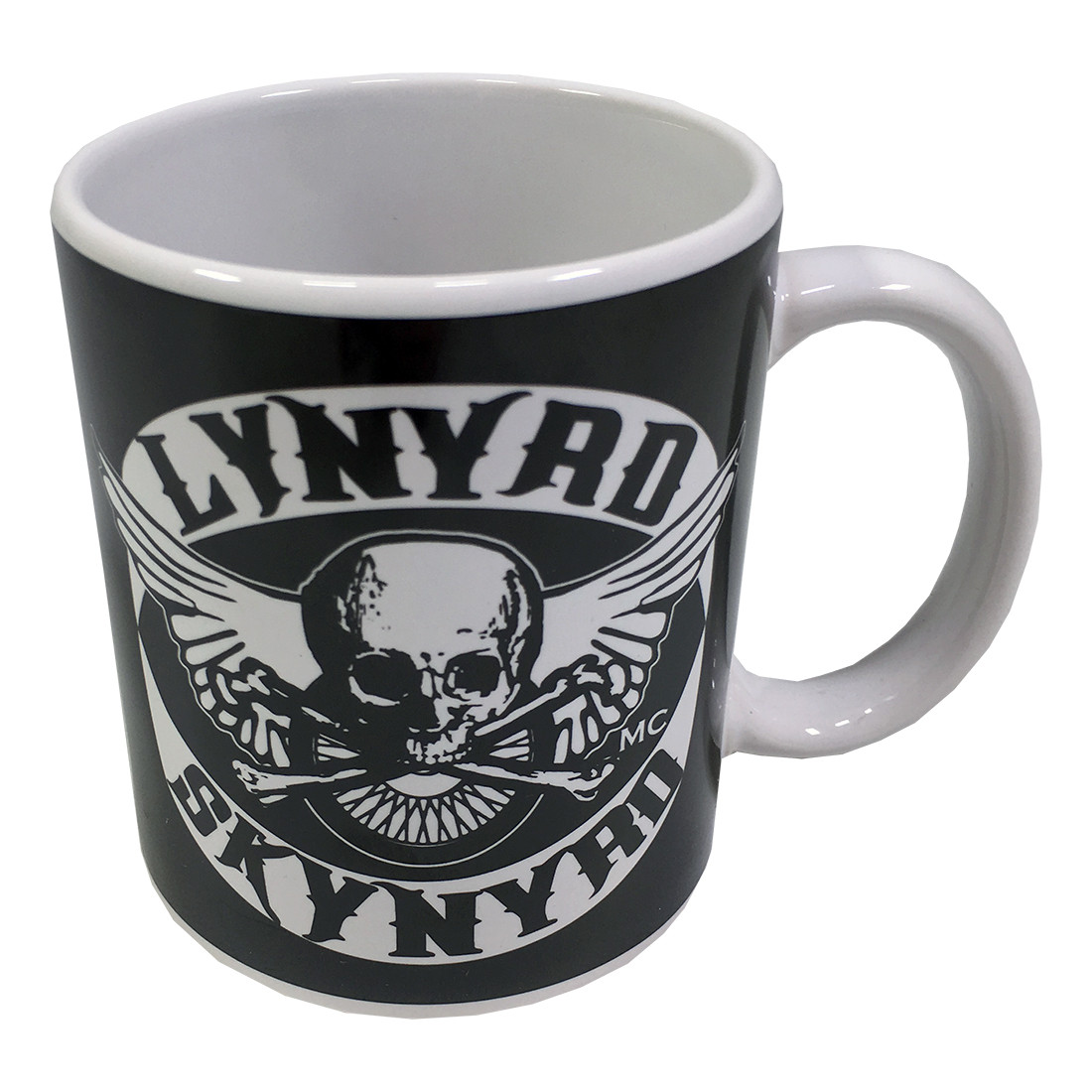 Skynyrd Biker Patch Mug Black