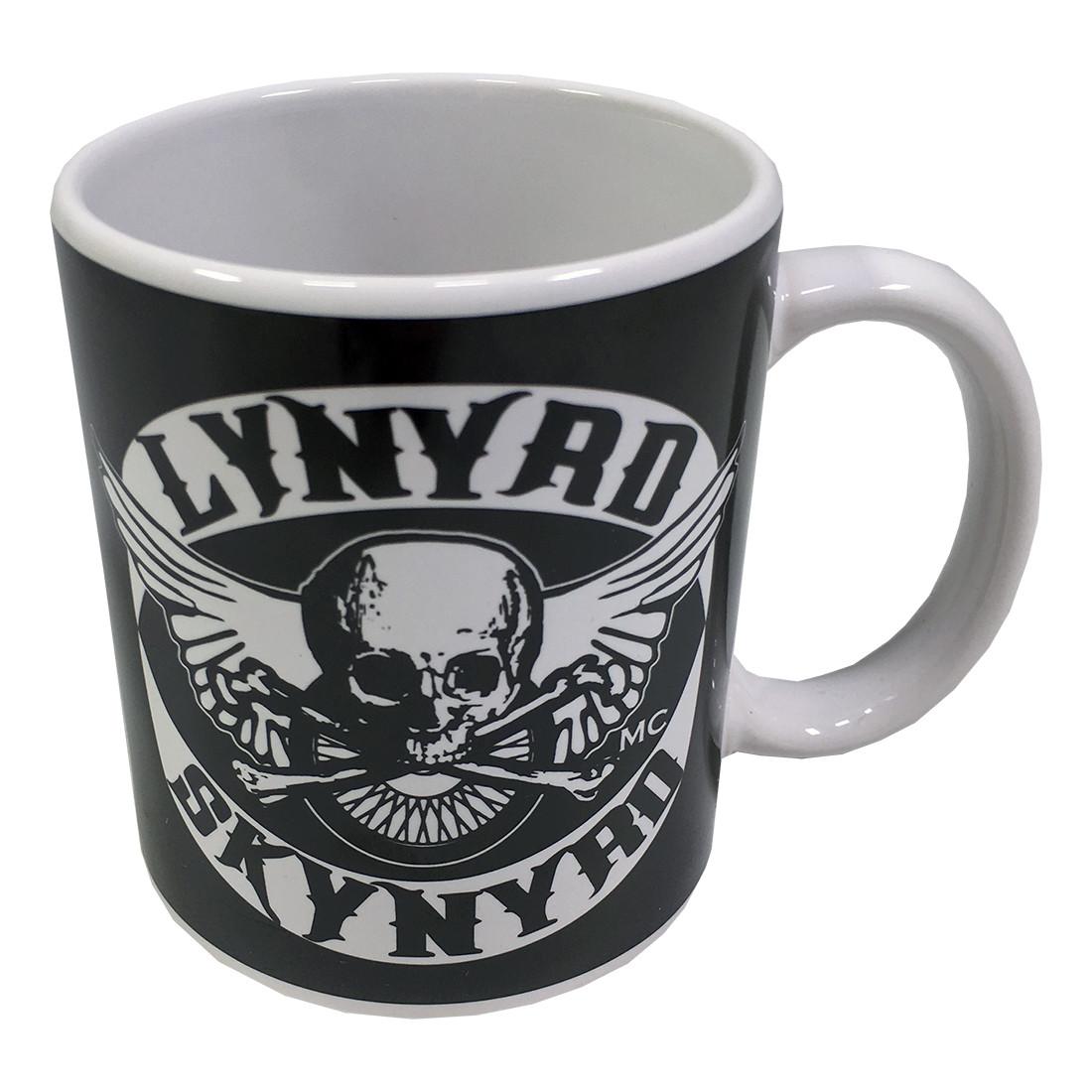 Skynyrd Biker Patch Mug Black