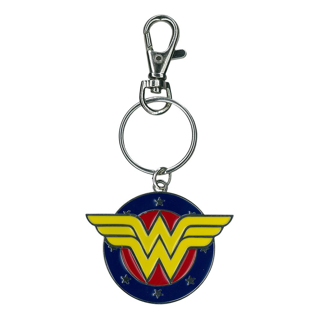 Wonder Woman Metal Keychain