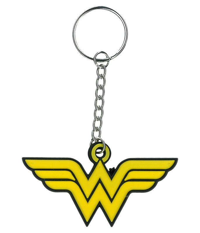 Wonder Woman Rubber Keychain