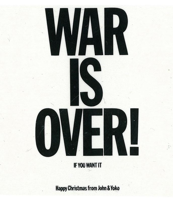 Lennon War Is Over Magnet