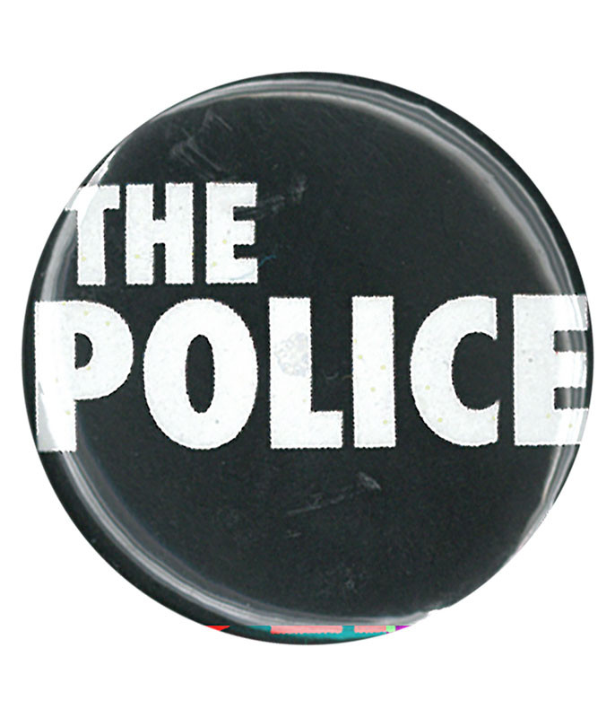 THE POLICE LOGO PIN