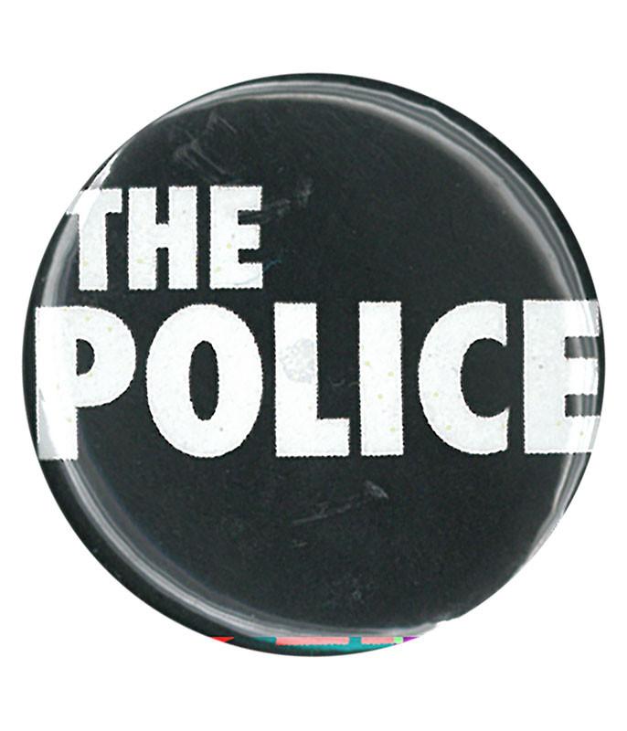 The Police Logo Pin