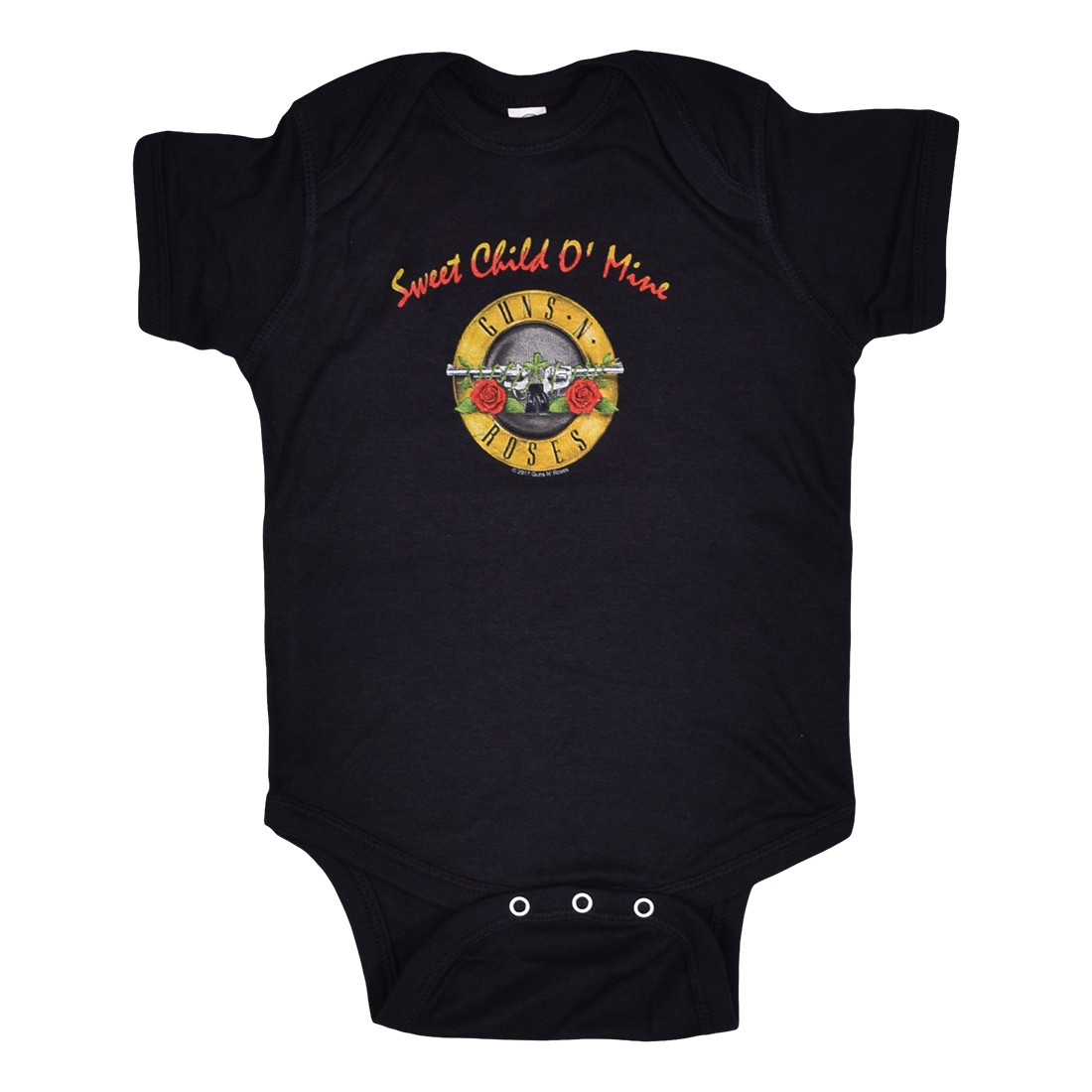 GNR Sweet Child Black Onesie
