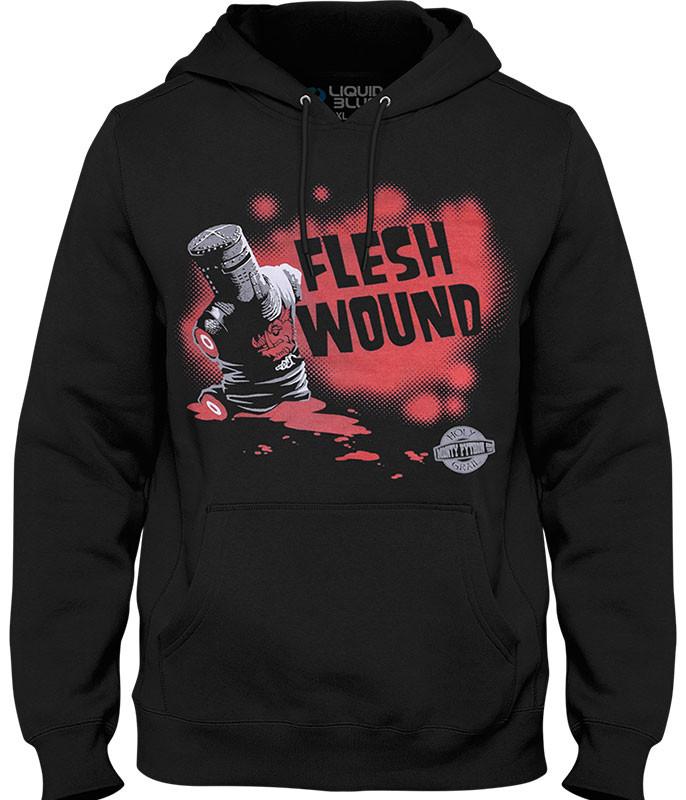 Flesh Wound Black Hoodie