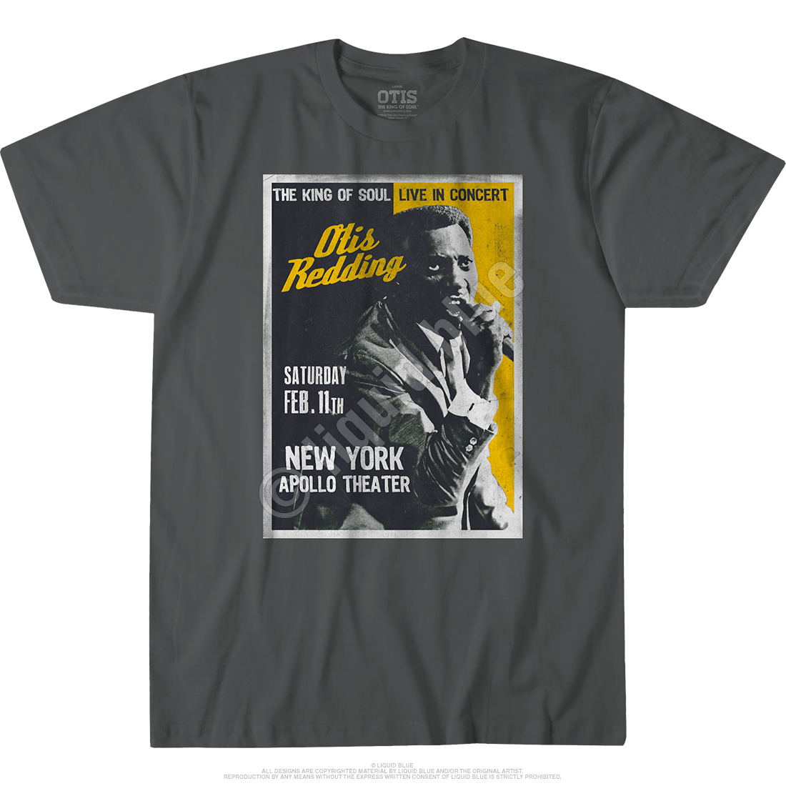 Apollo Theatre Grey Athletic T-Shirt
