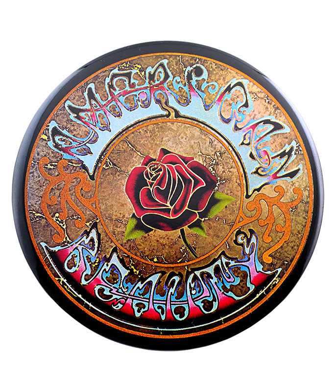 Grateful Dead GD American Beauty Round Magnet