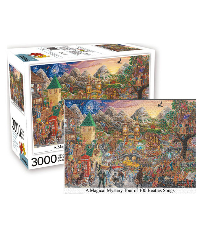 Beatles Magical Mystery Tour 3000 pc Puzzle
