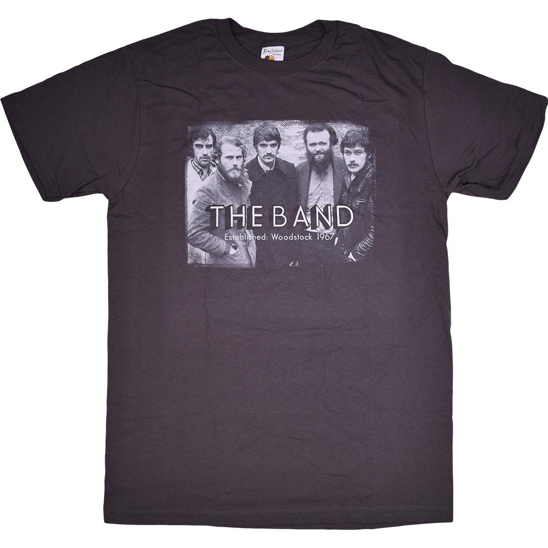 The Band Woodstock Photo Grey T-Shirt