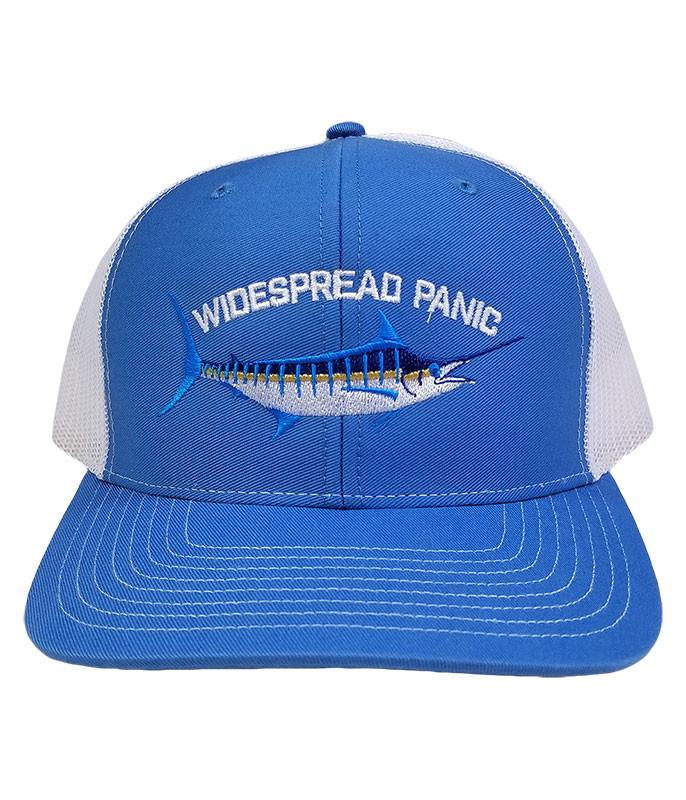 WIDESPREAD PANIC MARLIN BLUE BASEBALL CAP