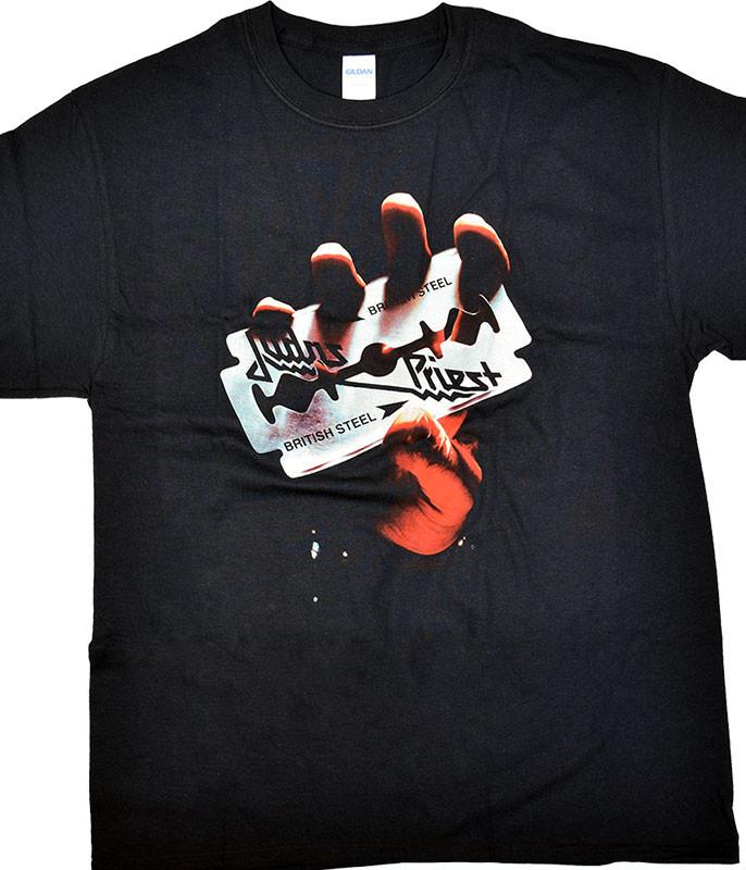 Judas Priest British Steel Black T-Shirt
