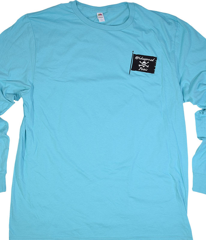 Widespread Panic St. Augustine Light Blue Long Sleeve T-Shirt Tee