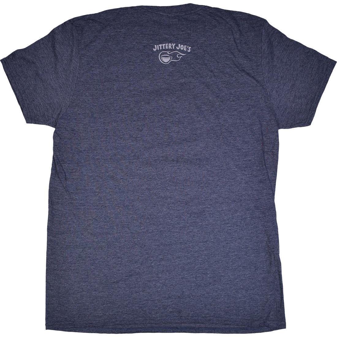 Widespread Panic Up All Night Dark Blue Heather T-Shirt