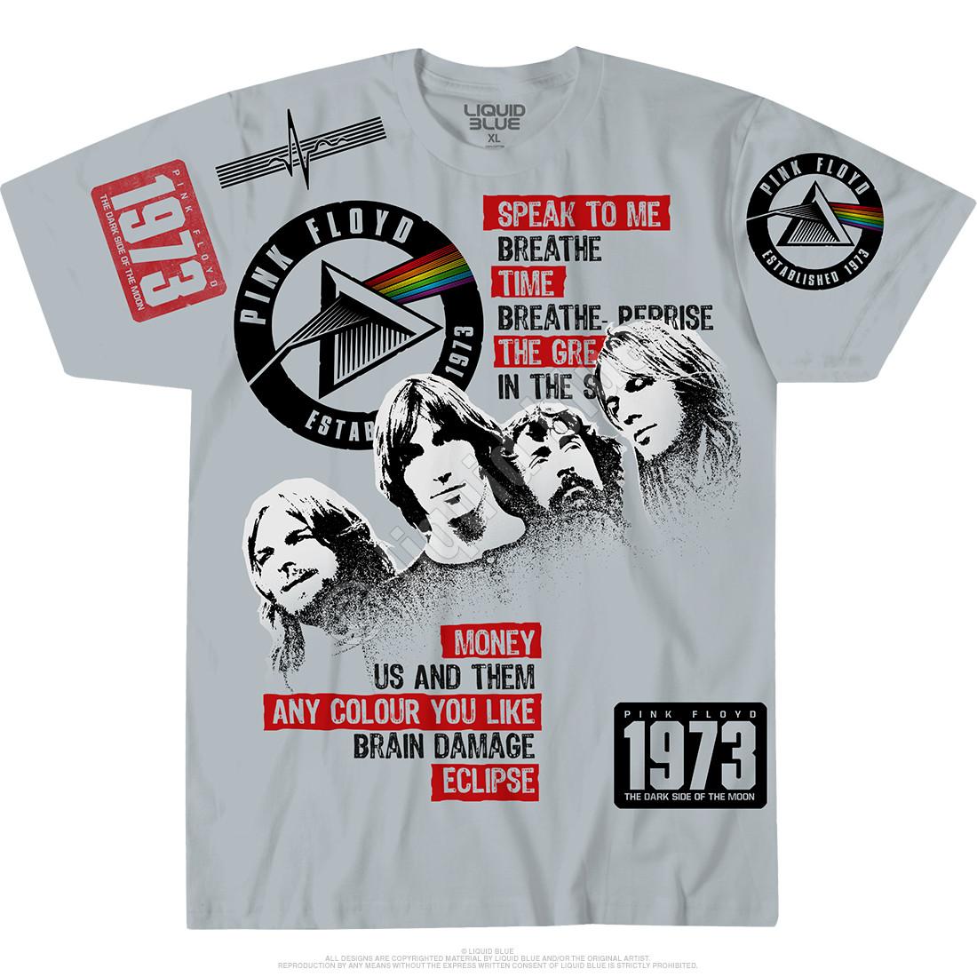 Dark Side 1973 Grey T-Shirt