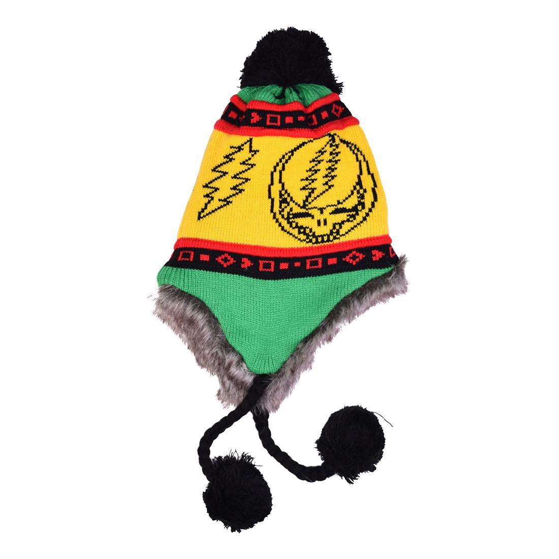 GD Rasta SYF Lined Flap Hat