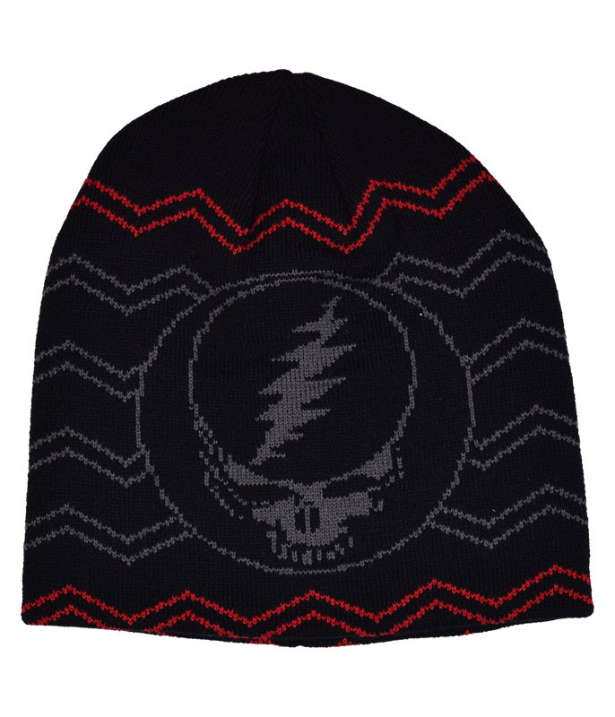 Grateful Dead GD Black SYF Beanie