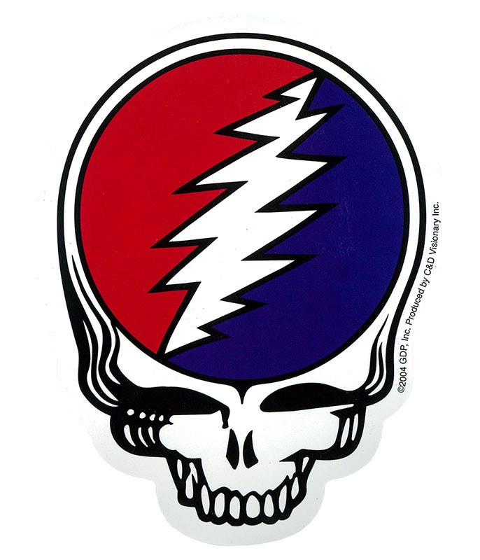 Grateful Dead GD SYF Die Cut Sticker
