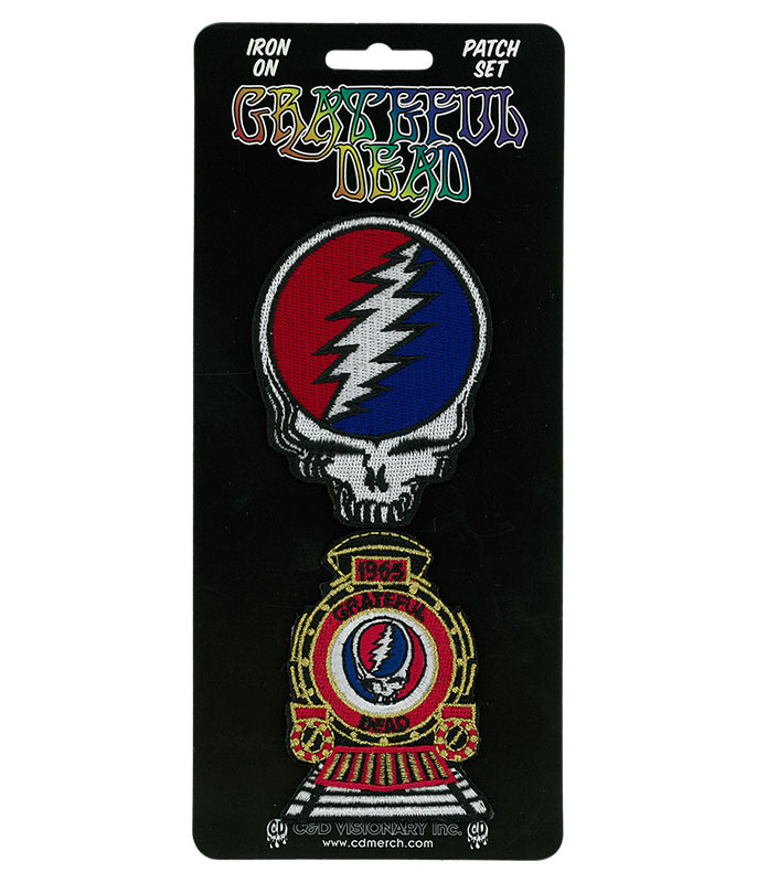 Grateful Dead GD SYF & Train Patch Set
