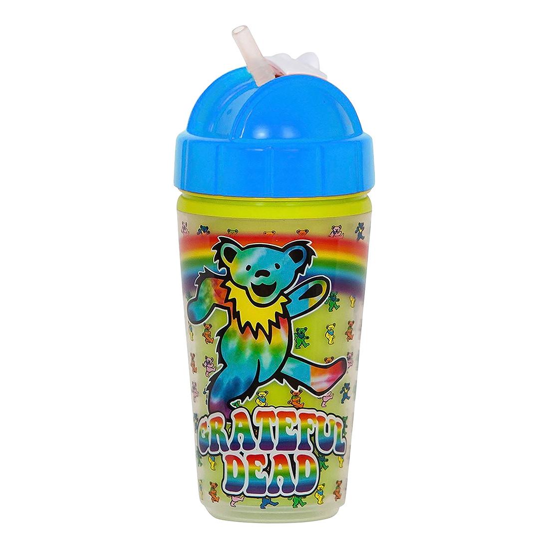 GD Dancing Bears Rainbow Sippy Straw Cup