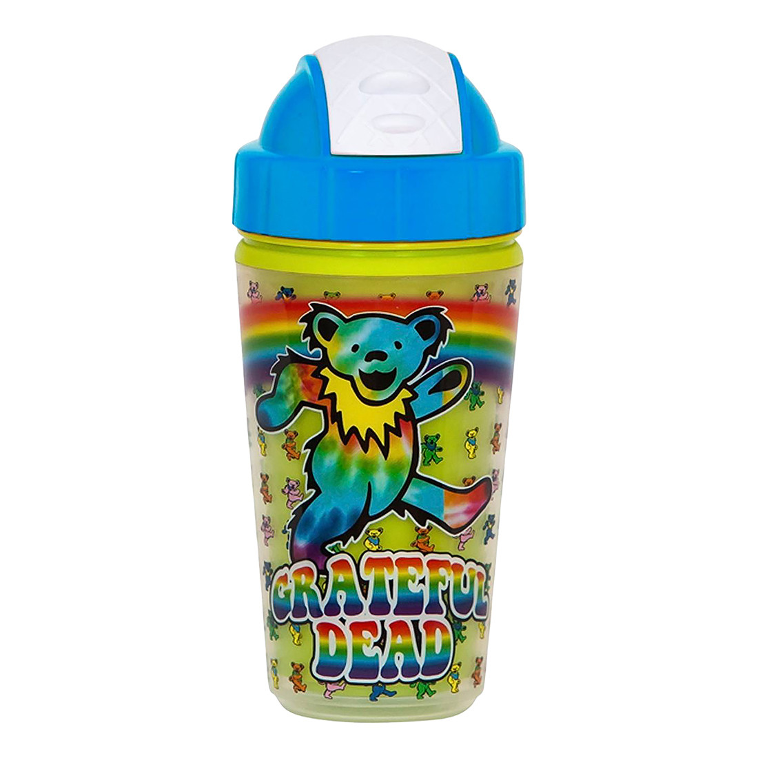 GD Dancing Bears Rainbow Sippy Straw Cup