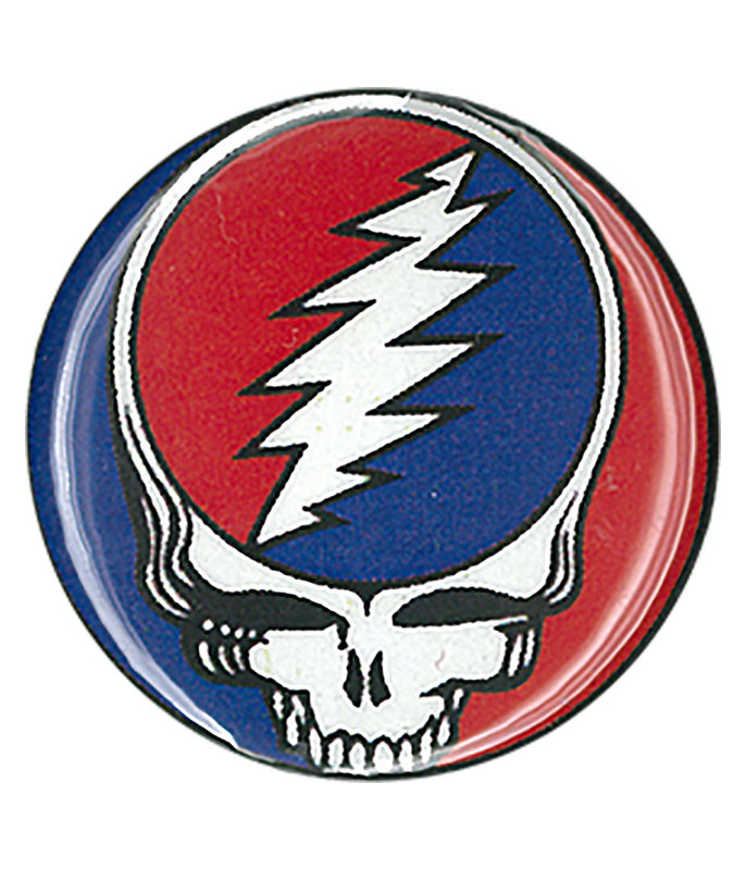 Grateful Dead GD Steal Your Face Pin