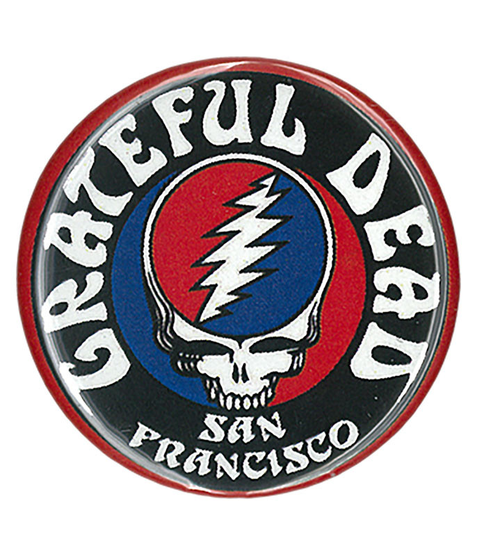 Grateful Dead GD San Fran Logo Pin