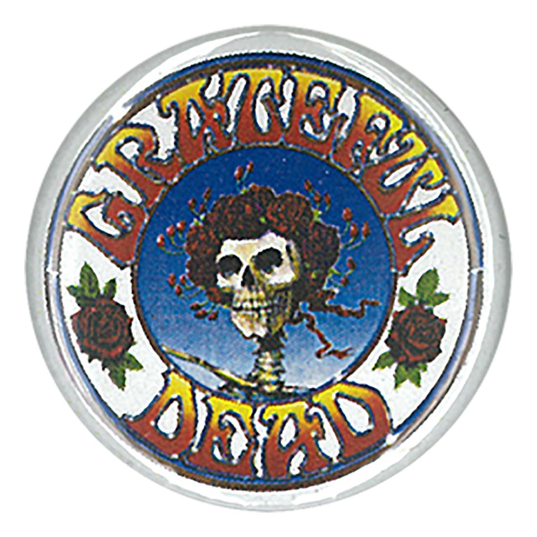 GD Skull and Roses Pin