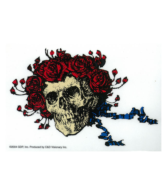 Grateful Dead GD Bertha Roses Sticker