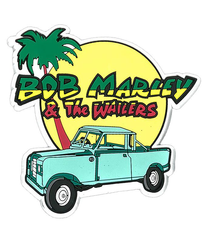 Bob Marley Jeep Magnet