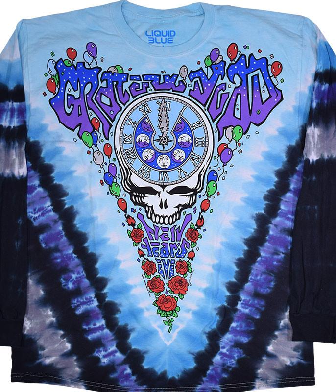 Midnight Hour Tie-Dye Long Sleeve T-Shirt